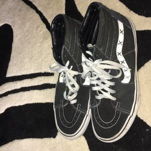 Vans high tops used size 10